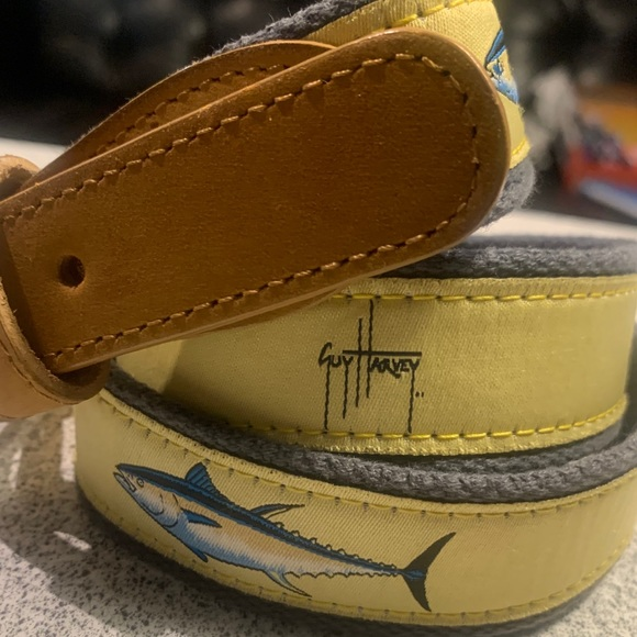 Guy Harvey Other - SOLD!!!  GUY HARVEY | VINTAGE | TUNA TRIO | BELT